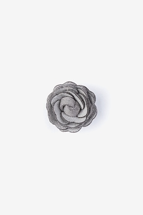 _Mini Flower Gray Lapel Pin_