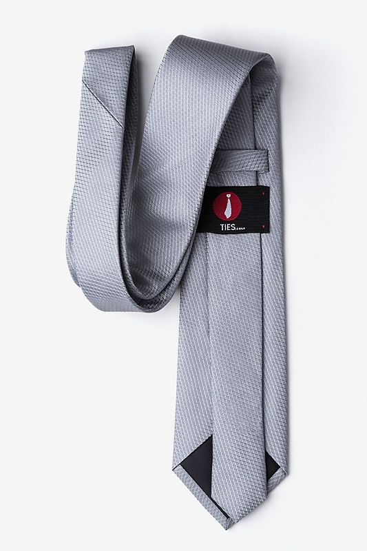 Dominica Gray Extra Long Tie Photo (1)