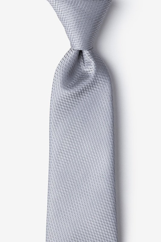 Dominica Gray Extra Long Tie Photo (0)