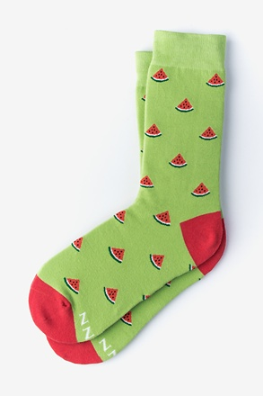 _Watermelon Green Women's Sock_