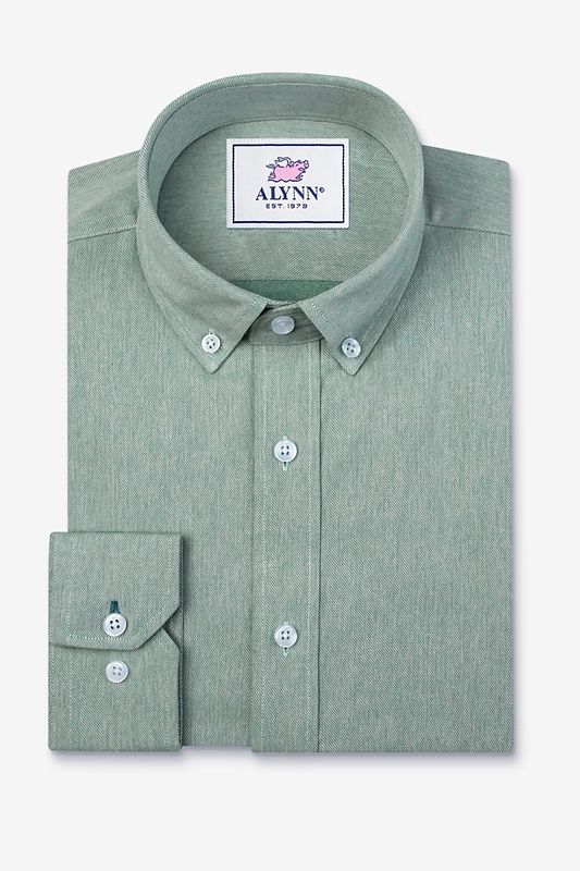 Caden Green Classic Fit Casual Shirt Photo (0)