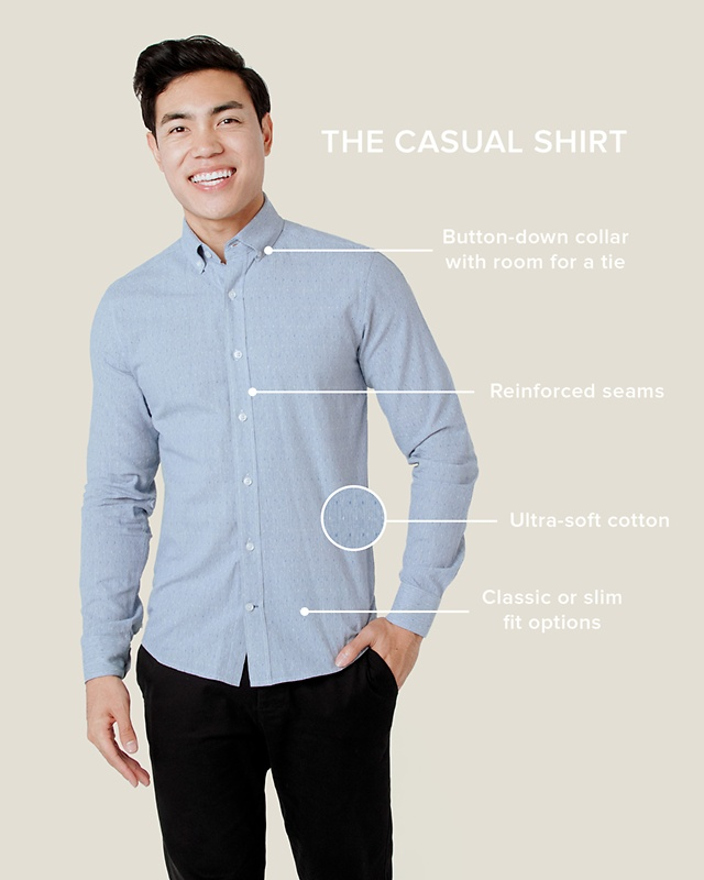 Caden Green Classic Fit Casual Shirt Photo (3)