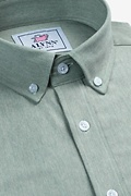 Caden Green Classic Fit Casual Shirt Photo (1)