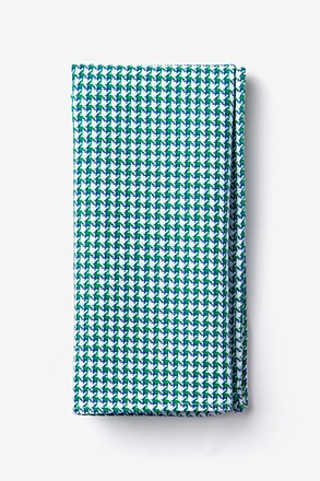 _Sadler Green Pocket Square_