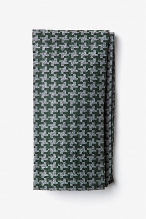 _Tempe Green Pocket Square_