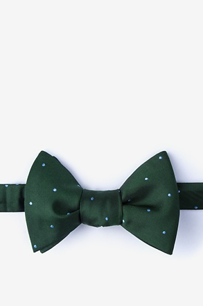 Griffin Green Self-Tie Bow Tie
