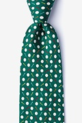 Par-Tee Time Green Extra Long Tie Photo (0)