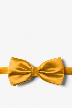 _Honey Yellow Pre-Tied Bow Tie_