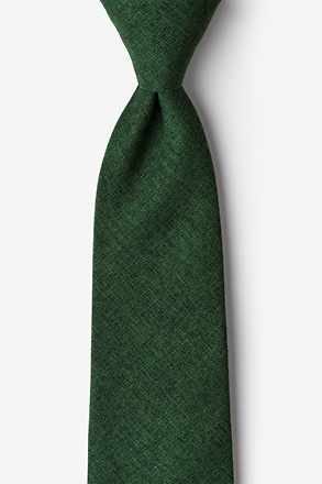 Galveston Hunter Green Tie
