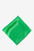 Kelly Green Silk Kelly Green Pocket Square