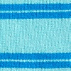 Light Blue Carded Cotton Culver Stripe Sock