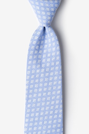 Poway Light Blue Extra Long Tie