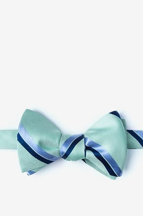 Axel Mint Green Self-Tie Bow Tie