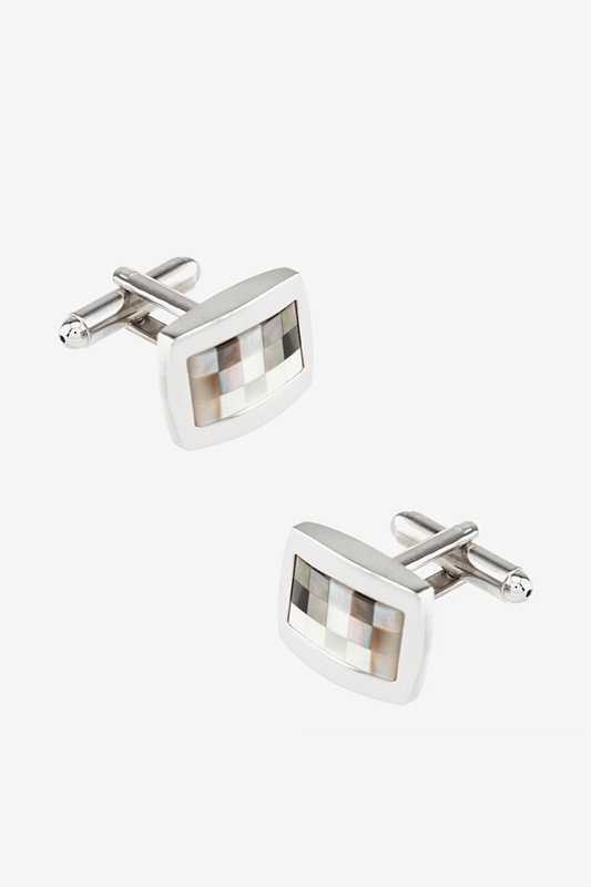 Wilshire Mother Of Pearl Cufflinks Photo (0)