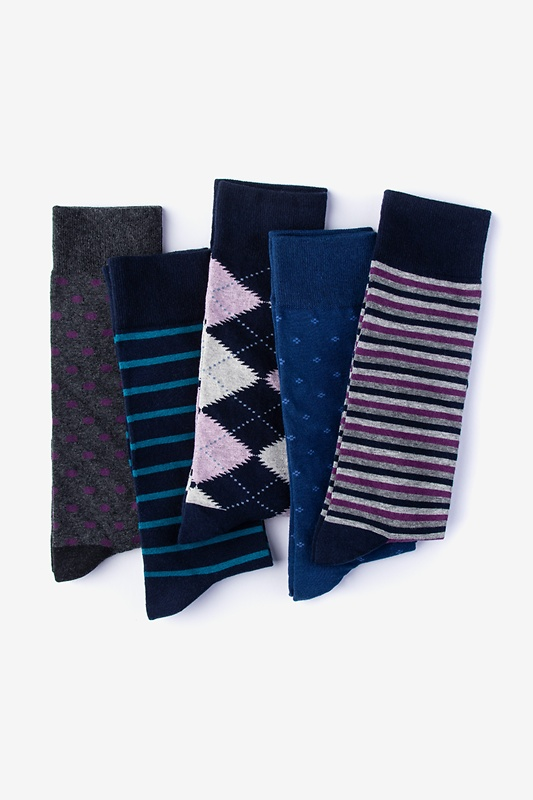 Like a Boss 5 Multicolor Sock Pack Photo (0)