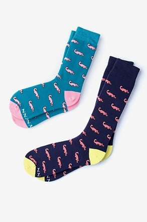 _Oh Snap! Multicolor His & Hers Socks_