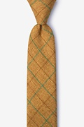 Harley Mustard Skinny Tie Photo (0)