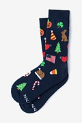 Every Occasion Sock Navy Blue Women's Sock Photo (0)