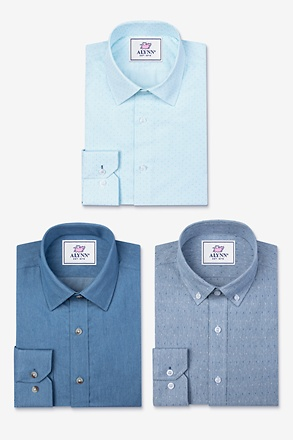 All Blue Everything Navy Blue Shirt Pack