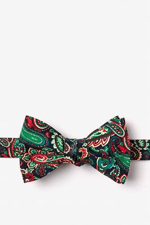 Carrollton Navy Blue Self-Tie Bow Tie