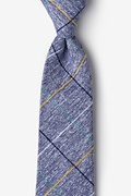 Globe Navy Blue Extra Long Tie Photo (0)