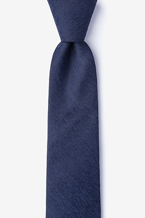 _Tiffin Navy Blue Skinny Tie_