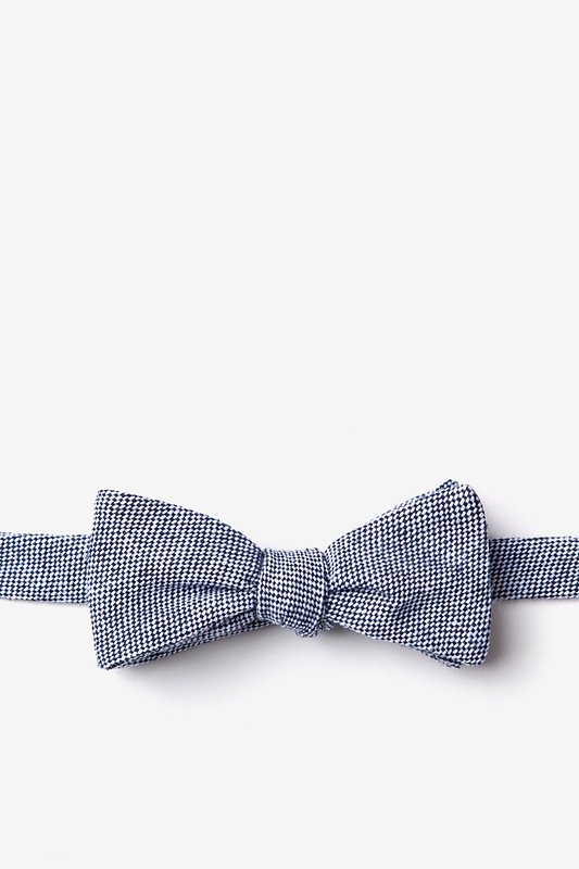 Westminster Navy Blue Skinny Bow Tie Photo (0)