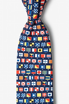 _Communic-Ocean Navy Blue Tie_