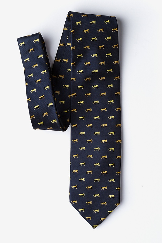 Hold Your Horses Navy Blue Tie Photo (2)