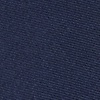 Navy Blue Silk Navy Blue Skinny Tie