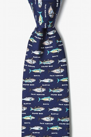 Northern Grand Slam Navy Blue Tie