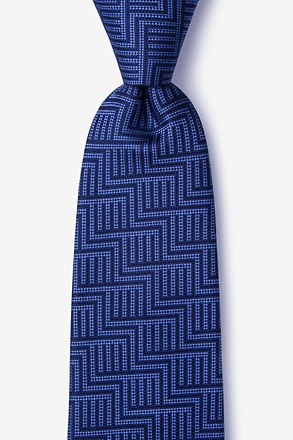 Pearch Navy Blue Tie