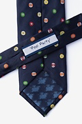 Pool Party Navy Blue Tie Photo (2)