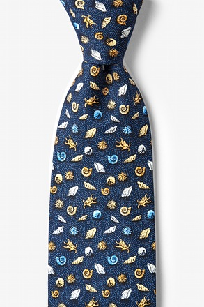 What the Shell? Navy Blue Tie