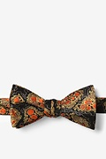 Hepatitis B Olive Self-Tie Bow Tie Photo (0)