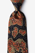 Olive Silk Hepatitis B Tie