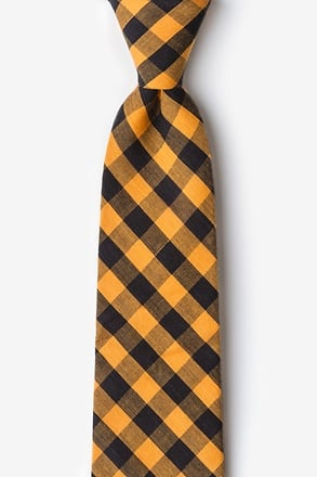 Pasco Orange Extra Long Tie