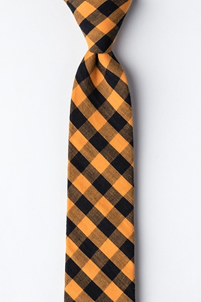 _Pasco Orange Skinny Tie_