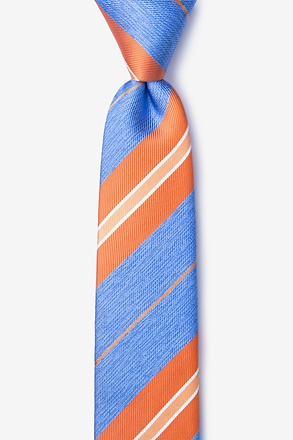 _Inny Orange Skinny Tie_