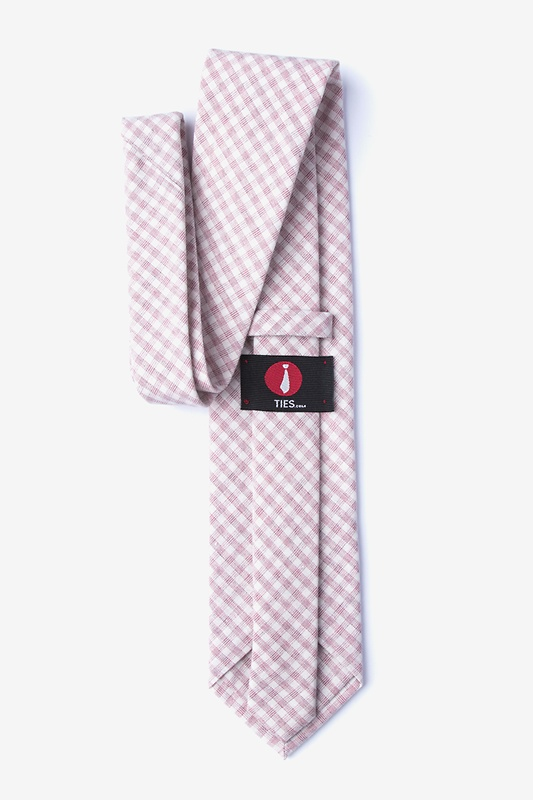 Huron Pink Extra Long Tie Photo (1)