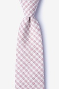 Huron Pink Extra Long Tie Photo (0)
