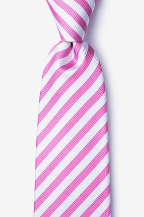 _Glyde Pink Extra Long Tie_
