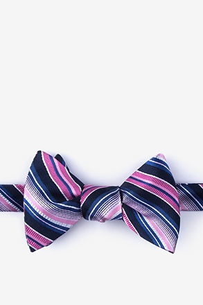 _Moy Pink Self-Tie Bow Tie_