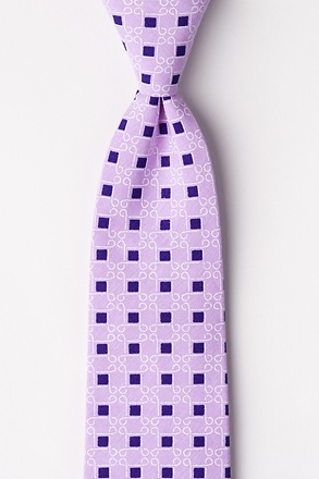 Jamaica Purple Extra Long Tie