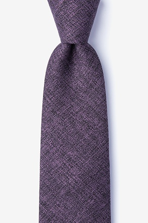Port Purple Tie
