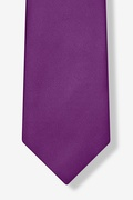 Purple Plum Extra Long Tie Photo (4)