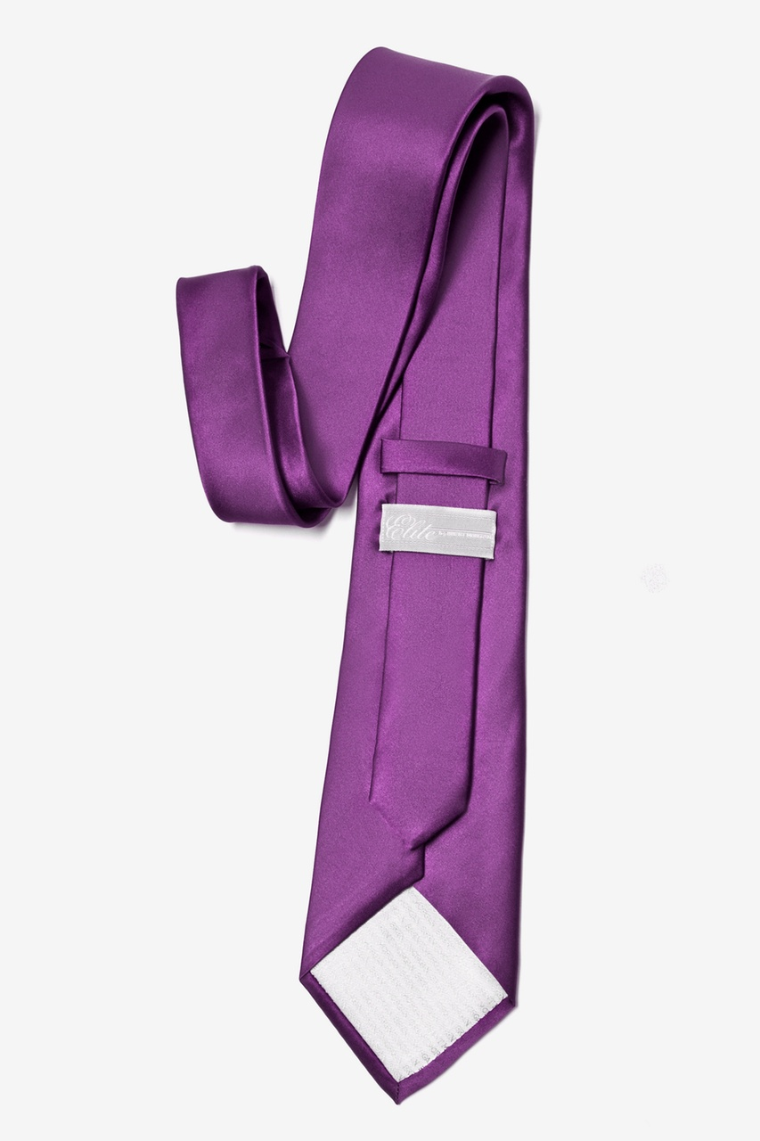 Purple Plum Extra Long Tie Photo (2)
