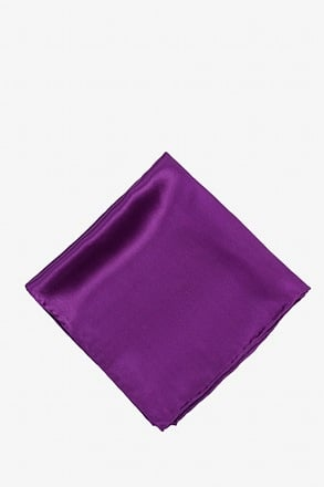 Purple Plum Pocket Square