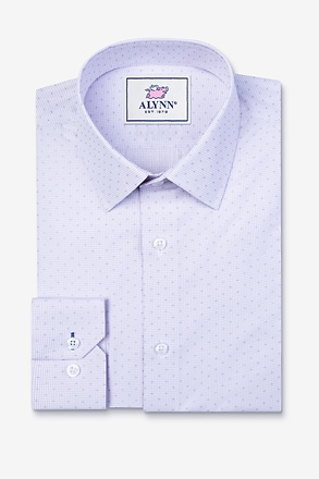 Evan Purple Slim Fit Dress Shirt