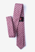 Ash Red Skinny Tie Photo (1)